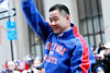 NEW YORK, NY - FEBRUARY 07:  New York City Comptroller John C. Liu attends the New York Giants Victory Parade following their Super Bowl XLVI win down the Canyon of Heroes on the streets of Manhattan on February 7, 2012 in New York City.  (Photo by Steve Mack/S.D. Mack Pictures)
