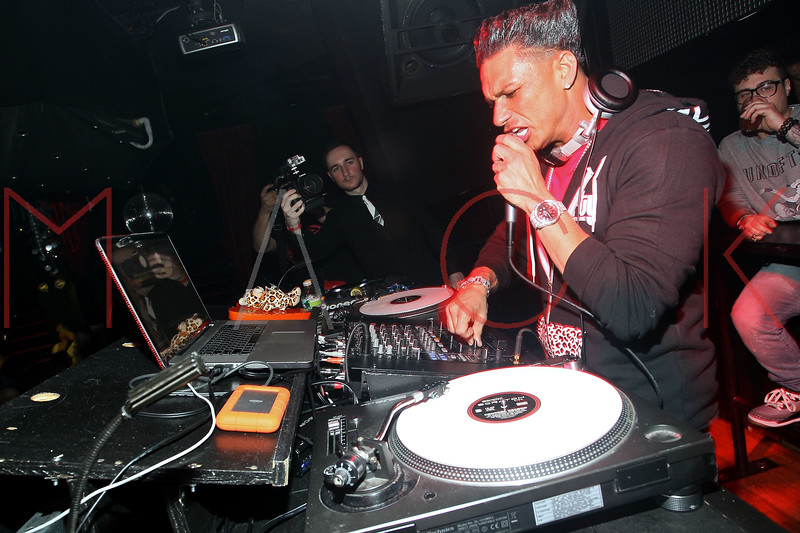 NEW YORK, NY - FEBRUARY 14:  Pauly D hosts a party at Pacha on February 14, 2012 in New York City.   (Photo by Steve Mack/S.D. Mack Pictures)