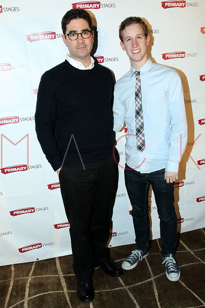 "NEW YORK, NY - FEBRUARY 07:  Alex Wyse and Jonathan Tolins attend ""RX"" Broadway opening night after party at the 48 Lounge on February 7, 2012 in New York City.  (Photo by Steve Mack/S.D. Mack Pictures)"