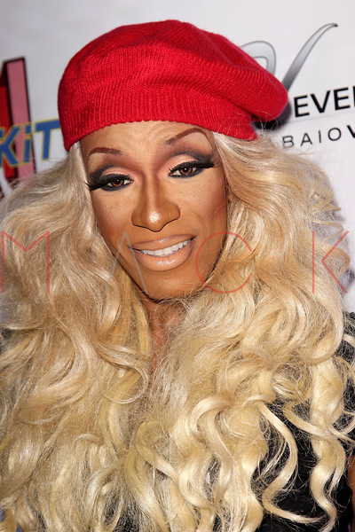 """NEW YORK, NY - FEBRUARY 03:  Sahara Davenport attends """"RuPaul's Drag Race"""" official season four launch party at RockIt Lounge at XL on February 3, 2012 in New York City.  (Photo by Steve Mack/S.D. Mack Pictures)"""