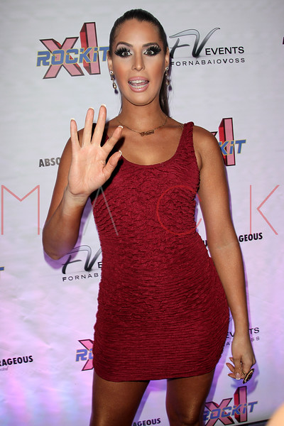 """NEW YORK, NY - FEBRUARY 03:  Carmen Carrera attends """"RuPaul's Drag Race"""" official season four launch party at RockIt Lounge at XL on February 3, 2012 in New York City.  (Photo by Steve Mack/S.D. Mack Pictures)"""