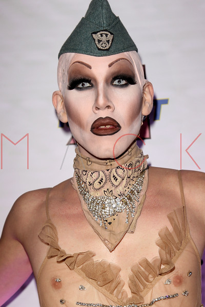 "NEW YORK, NY - FEBRUARY 03:  Sharon Needles attends ""RuPaul's Drag Race"" official season four launch party at RockIt Lounge at XL on February 3, 2012 in New York City.  (Photo by Steve Mack/S.D. Mack Pictures)"
