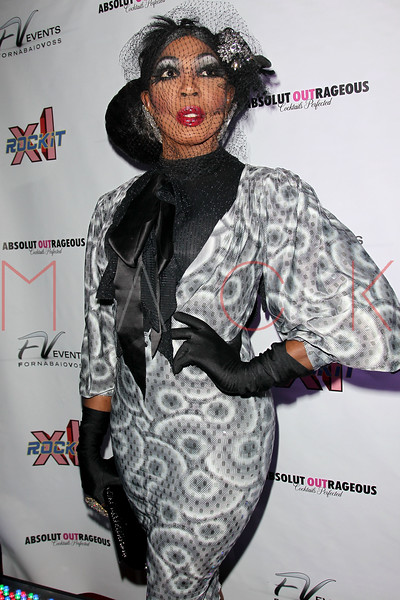 "NEW YORK, NY - FEBRUARY 03:  Bebe Zahara attends ""RuPaul's Drag Race"" official season four launch party at RockIt Lounge at XL on February 3, 2012 in New York City.  (Photo by Steve Mack/S.D. Mack Pictures)"