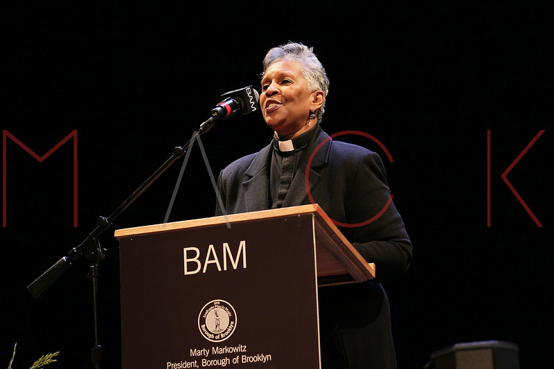 NEW YORK, NY - JANUARY 16:  Rev. Dr. Cheryl Anthony attends the 6th annual Brooklyn Tribute to Dr. Martin Luther King, Jr. at the BAM Howard Gilman Opera House on January 16, 2012 in New York City.  (Photo by Steve Mack/S.D. Mack Pictures)
