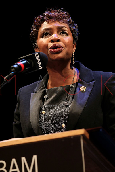 NEW YORK, NY - JANUARY 16:  Congresswoman Yvette D. Clarke attends the 6th annual Brooklyn Tribute to Dr. Martin Luther King, Jr. at the BAM Howard Gilman Opera House on January 16, 2012 in New York City.  (Photo by Steve Mack/S.D. Mack Pictures)