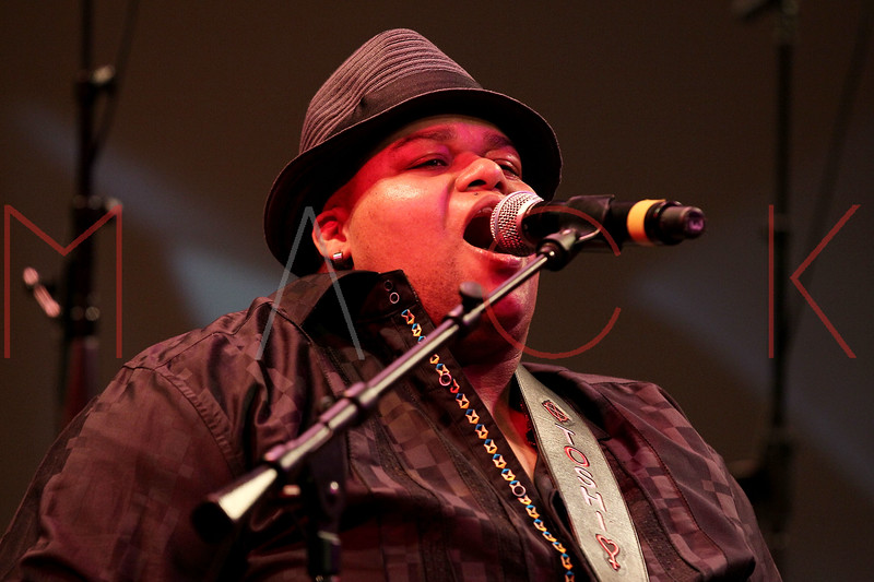 NEW YORK, NY - JANUARY 16:  Tosi Reagon and BIGLovely performs at the 6th annual Brooklyn Tribute to Dr. Martin Luther King, Jr. at the BAM Howard Gilman Opera House on January 16, 2012 in New York City.  (Photo by Steve Mack/S.D. Mack Pictures)