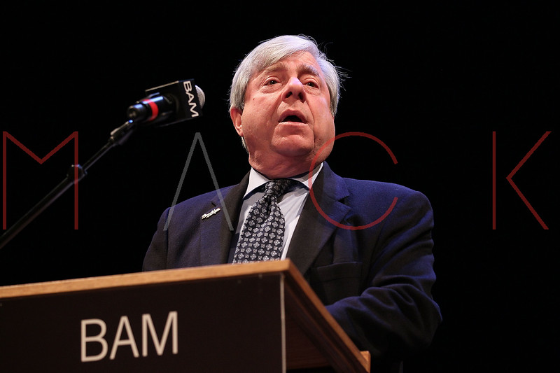 NEW YORK, NY - JANUARY 16:  Brooklyn Borough President Marty Markowitz attends the 6th annual Brooklyn Tribute to Dr. Martin Luther King, Jr. at the BAM Howard Gilman Opera House on January 16, 2012 in New York City.  (Photo by Steve Mack/S.D. Mack Pictures)