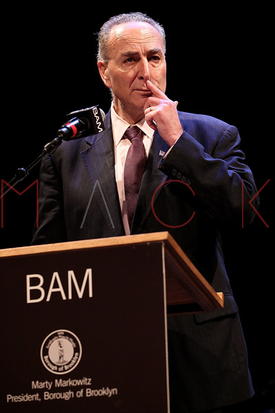 NEW YORK, NY - JANUARY 16:  US Senator Charles E. Schumer attends the 6th annual Brooklyn Tribute to Dr. Martin Luther King, Jr. at the BAM Howard Gilman Opera House on January 16, 2012 in New York City.  (Photo by Steve Mack/S.D. Mack Pictures)