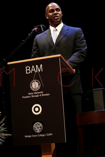 NEW YORK, NY - JANUARY 16:  Derek Jenkins of Target attends the 6th annual Brooklyn Tribute to Dr. Martin Luther King, Jr. at the BAM Howard Gilman Opera House on January 16, 2012 in New York City.  (Photo by Steve Mack/S.D. Mack Pictures)