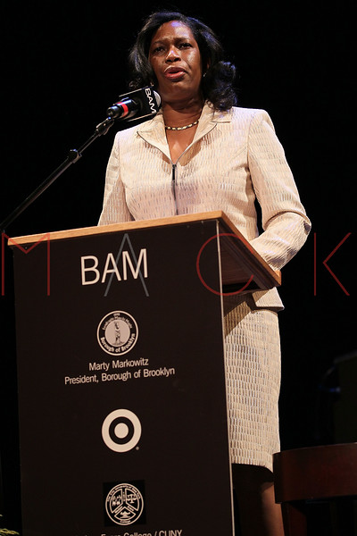 NEW YORK, NY - JANUARY 16:  Deputy Brooklyn Borough President Sandra Chapman attends the 6th annual Brooklyn Tribute to Dr. Martin Luther King, Jr. at the BAM Howard Gilman Opera House on January 16, 2012 in New York City.  (Photo by Steve Mack/S.D. Mack Pictures)