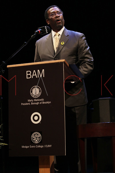 NEW YORK, NY - JANUARY 16:  Dr. William L. Pollard of Medgar Evers College attends the 6th annual Brooklyn Tribute to Dr. Martin Luther King, Jr. at the BAM Howard Gilman Opera House on January 16, 2012 in New York City.  (Photo by Steve Mack/S.D. Mack Pictures)