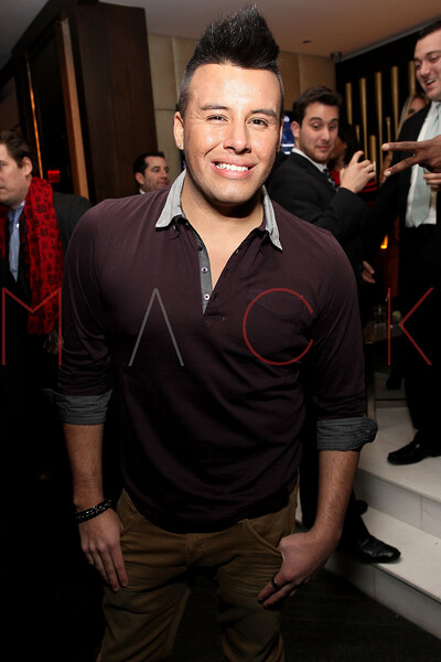 NEW YORK, NY - JANUARY 18:  Johnny Donovan attends the grand re-opening of Jay-Z's 40/40 Club on January 18, 2012 in New York City.  (Photo by Steve Mack/S.D. Mack Pictures)
