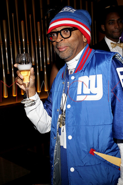 NEW YORK, NY - JANUARY 18:  Spike Lee attends the grand re-opening of Jay-Z's 40/40 Club on January 18, 2012 in New York City.  (Photo by Steve Mack/S.D. Mack Pictures)