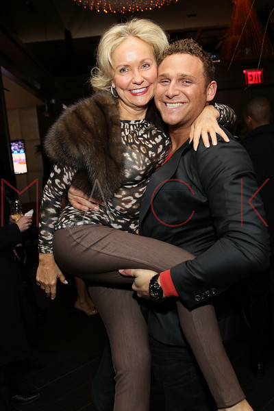 NEW YORK, NY - JANUARY 18:  Kim Granatell and Chris Nirschel attend the grand re-opening of Jay-Z's 40/40 Club on January 18, 2012 in New York City.  (Photo by Steve Mack/S.D. Mack Pictures)