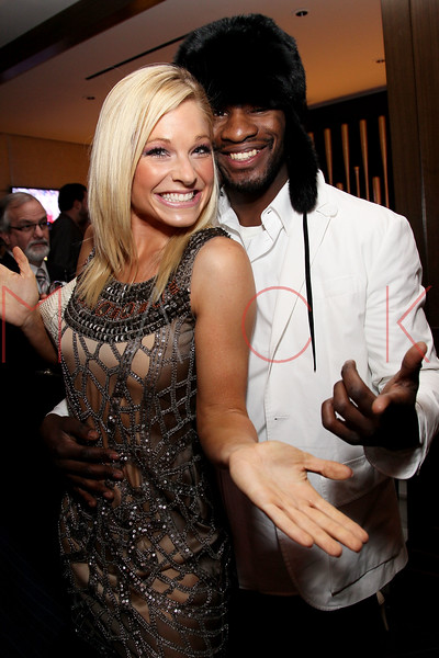 NEW YORK, NY - JANUARY 18:  Anna Kooiman and Eric Kelly attend the grand re-opening of Jay-Z's 40/40 Club on January 18, 2012 in New York City.  (Photo by Steve Mack/S.D. Mack Pictures)