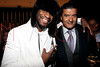 "NEW YORK, NY - JANUARY 18:  Eric Kelly and Jacob Arabo (a.k.a. ""Jacob the Jeweler"") attend the grand re-opening of Jay-Z's 40/40 Club on January 18, 2012 in New York City.  (Photo by Steve Mack/S.D. Mack Pictures)"