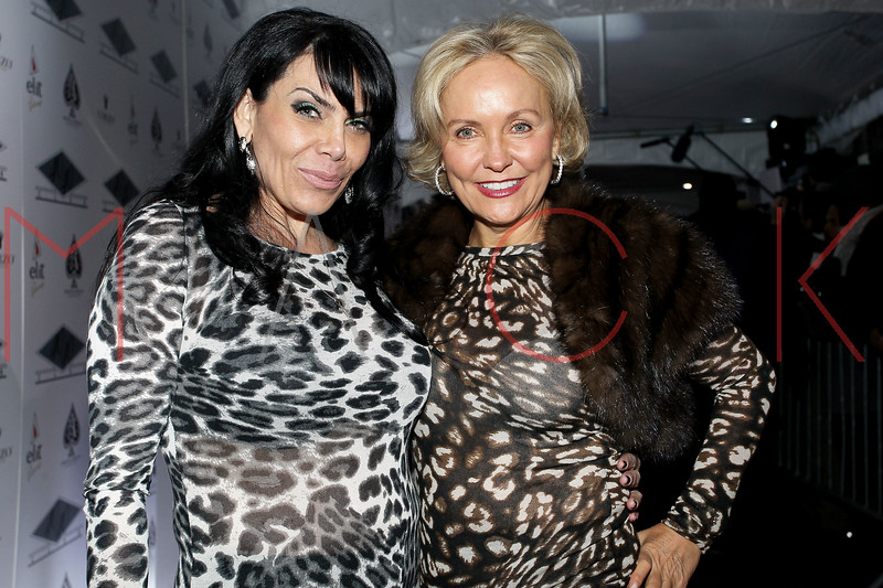 NEW YORK, NY - JANUARY 18:  Renee Graziano and Kim Granatell attend the grand re-opening of Jay-Z's 40/40 Club on January 18, 2012 in New York City.  (Photo by Steve Mack/S.D. Mack Pictures)