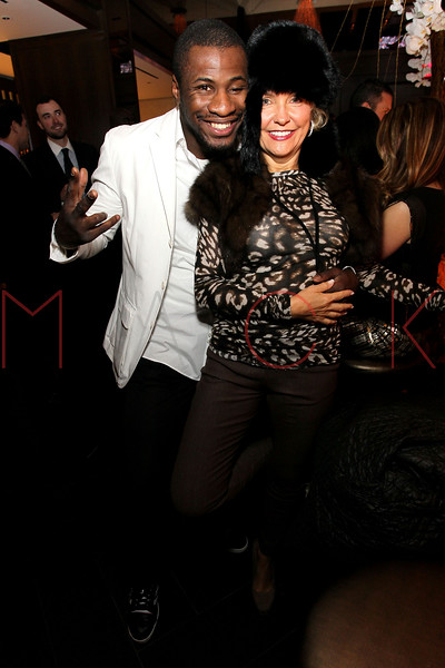 NEW YORK, NY - JANUARY 18:  Eric Kelly and Kim Granatell attends the grand re-opening of Jay-Z's 40/40 Club on January 18, 2012 in New York City.  (Photo by Steve Mack/S.D. Mack Pictures)
