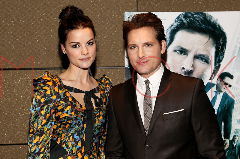 """NEW YORK, NY - JANUARY 10:  Jaimie Alexander and Peter Facinelli attend the """"Loosies"""" premiere at the  Tribeca Grand Hotel on January 10, 2012 in New York City.  (Photo by Steve Mack/S.D. Mack Pictures)"""