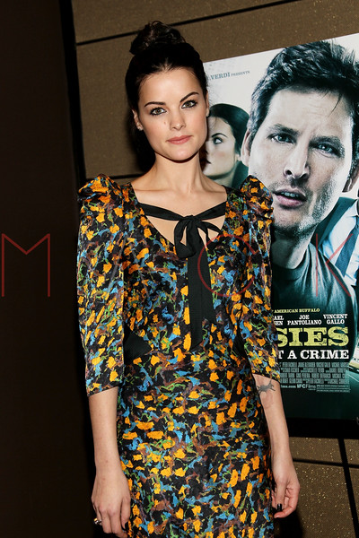 """NEW YORK, NY - JANUARY 10:  Jaimie Alexander attends the """"Loosies"""" premiere at the  Tribeca Grand Hotel on January 10, 2012 in New York City.  (Photo by Steve Mack/S.D. Mack Pictures)"""