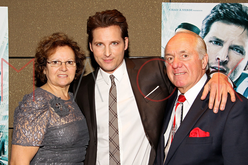"""NEW YORK, NY - JANUARY 10:  Bruna Facinelli, Peter Facinelli and Pierino Facinelli attend the """"Loosies"""" premiere at the  Tribeca Grand Hotel on January 10, 2012 in New York City.  (Photo by Steve Mack/S.D. Mack Pictures)"""