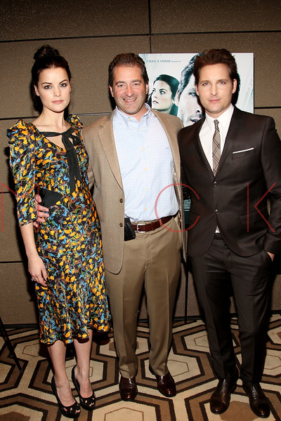 """NEW YORK, NY - JANUARY 10:  Jaimie Alexander, producer Chad A. Verdi and Peter Facinelli attend the """"Loosies"""" premiere at the  Tribeca Grand Hotel on January 10, 2012 in New York City.  (Photo by Steve Mack/S.D. Mack Pictures)"""