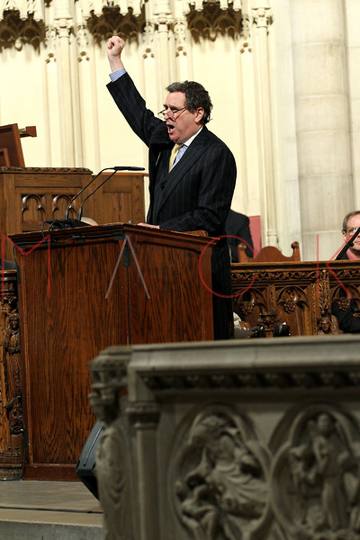 NEW YORK, NY - JANUARY 15:  Norman Siegel attends the 2012 Dr. Martin Luther King Jr. Service at Riverside Church on January 15, 2012 in New York City.  (Photo by Steve Mack/S.D. Mack Pictures)