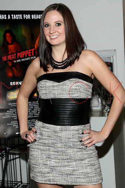 "NEW YORK, NY - JANUARY 17:  Anastasia Smith attends ""The Meat Puppet"" New York Premiere Film at Anthology Archives on January 17, 2013 in New York City.  (Photo by Steve Mack/S.D. Mack Pictures)"