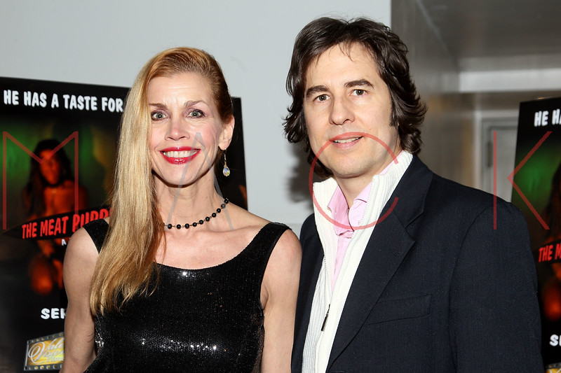 """NEW YORK, NY - JANUARY 17:  Debbie Dickinson and Chris Scarlett attend """"The Meat Puppet"""" New York Premiere Film at Anthology Archives on January 17, 2013 in New York City.  (Photo by Steve Mack/S.D. Mack Pictures)"""