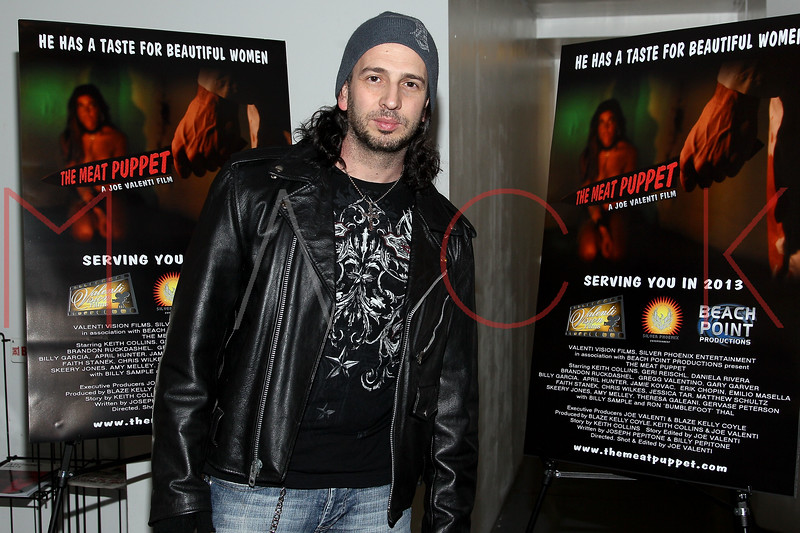"NEW YORK, NY - JANUARY 17:  Joseph Pepitone attends ""The Meat Puppet"" New York Premiere Film at Anthology Archives on January 17, 2013 in New York City.  (Photo by Steve Mack/S.D. Mack Pictures)"