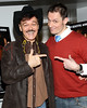 "NEW YORK, NY - JANUARY 17:  Randy Jones and Keith Collins attend ""The Meat Puppet"" New York Premiere Film at Anthology Archives on January 17, 2013 in New York City.  (Photo by Steve Mack/S.D. Mack Pictures)"