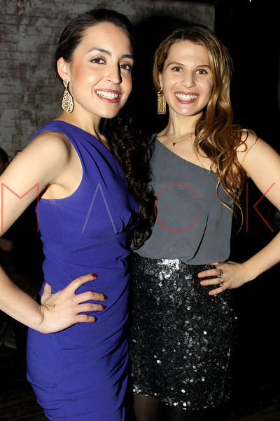 "NEW YORK, NY - JANUARY 17:  Daniela Rivera and Jessica Tar attend ""The Meat Puppet"" New York Premiere after party at Kings Cross on January 17, 2013 in New York City.  (Photo by Steve Mack/S.D. Mack Pictures)"
