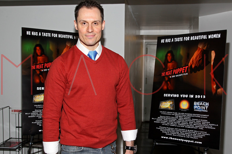 """NEW YORK, NY - JANUARY 17:  Keith Collins attends """"The Meat Puppet"""" New York Premiere Film at Anthology Archives on January 17, 2013 in New York City.  (Photo by Steve Mack/S.D. Mack Pictures)"""