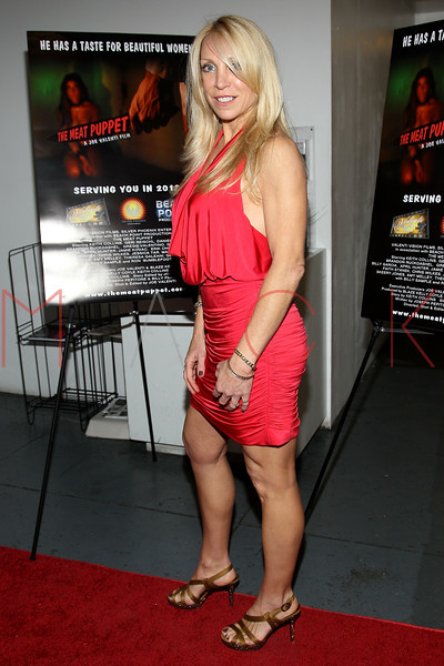 "NEW YORK, NY - JANUARY 17:  Cindy Fox ""The Naked Cowgirl"" attends ""The Meat Puppet"" New York Premiere Film at Anthology Archives on January 17, 2013 in New York City.  (Photo by Steve Mack/S.D. Mack Pictures)"