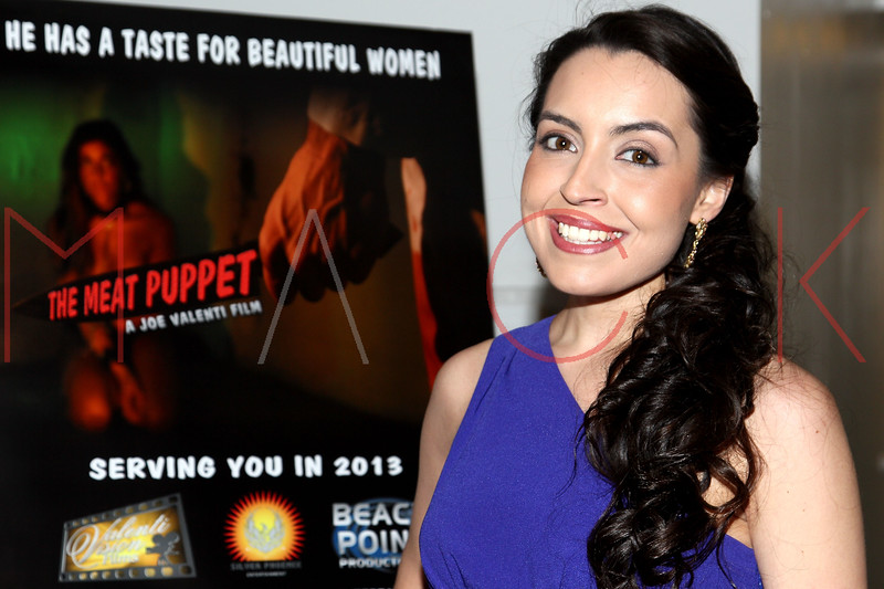 "NEW YORK, NY - JANUARY 17:  Daniela Rivera attends ""The Meat Puppet"" New York Premiere Film at Anthology Archives on January 17, 2013 in New York City.  (Photo by Steve Mack/S.D. Mack Pictures)"
