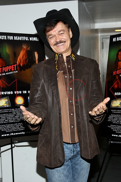 "NEW YORK, NY - JANUARY 17:  Randy Jones attends ""The Meat Puppet"" New York Premiere Film at Anthology Archives on January 17, 2013 in New York City.  (Photo by Steve Mack/S.D. Mack Pictures)"