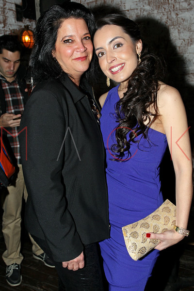 "NEW YORK, NY - JANUARY 17:  Holly Cordoma and Daniela Rivera attend ""The Meat Puppet"" New York Premiere after party at Kings Cross on January 17, 2013 in New York City.  (Photo by Steve Mack/S.D. Mack Pictures)"