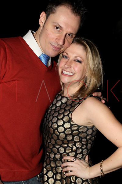 "NEW YORK, NY - JANUARY 17:  Keith Collins and Tricia Hart attend ""The Meat Puppet"" New York Premiere after party at Kings Cross on January 17, 2013 in New York City.  (Photo by Steve Mack/S.D. Mack Pictures)"