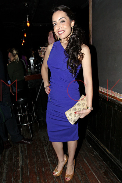 "NEW YORK, NY - JANUARY 17:  Daniela Rivera attends ""The Meat Puppet"" New York Premiere after party at Kings Cross on January 17, 2013 in New York City.  (Photo by Steve Mack/S.D. Mack Pictures)"