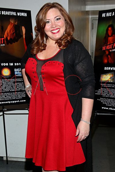 "NEW YORK, NY - JANUARY 17:  Blaze Kelly Coyle attends ""The Meat Puppet"" New York Premiere Film at Anthology Archives on January 17, 2013 in New York City.  (Photo by Steve Mack/S.D. Mack Pictures)"