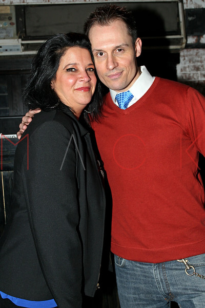 """NEW YORK, NY - JANUARY 17:  Holly Cordoma and Keith Collins attend """"The Meat Puppet"""" New York Premiere after party at Kings Cross on January 17, 2013 in New York City.  (Photo by Steve Mack/S.D. Mack Pictures)"""