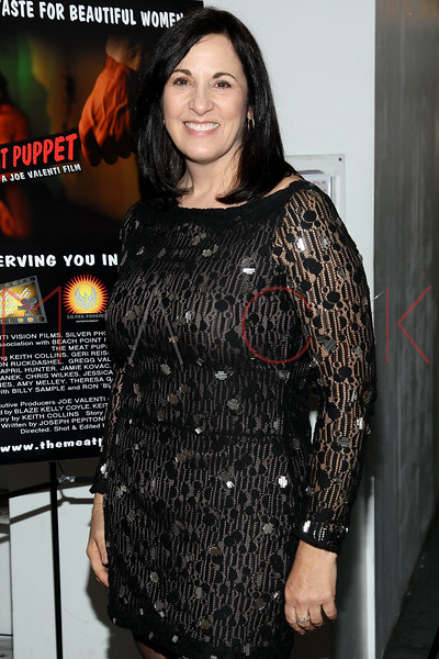 """NEW YORK, NY - JANUARY 17:  Kim St. Clair attends """"The Meat Puppet"""" New York Premiere Film at Anthology Archives on January 17, 2013 in New York City.  (Photo by Steve Mack/S.D. Mack Pictures)"""