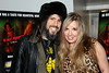 "NEW YORK, NY - JANUARY 17:  Ron ""Bumblefoot"" Thal and his wife Jennifer attend ""The Meat Puppet"" New York Premiere Film at Anthology Archives on January 17, 2013 in New York City.  (Photo by Steve Mack/S.D. Mack Pictures)"