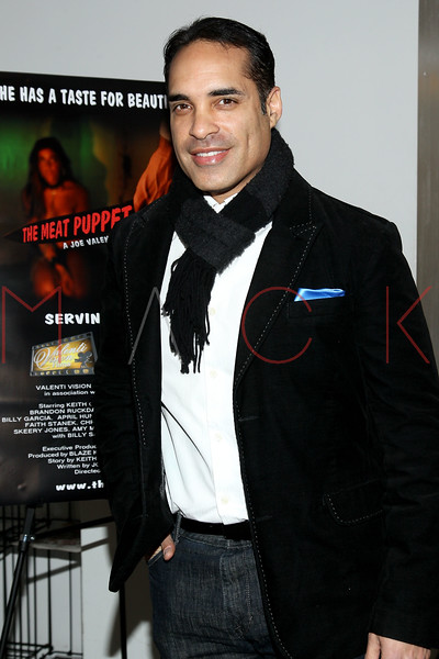 "NEW YORK, NY - JANUARY 17:  David Joseph Pacheco attends ""The Meat Puppet"" New York Premiere Film at Anthology Archives on January 17, 2013 in New York City.  (Photo by Steve Mack/S.D. Mack Pictures)"