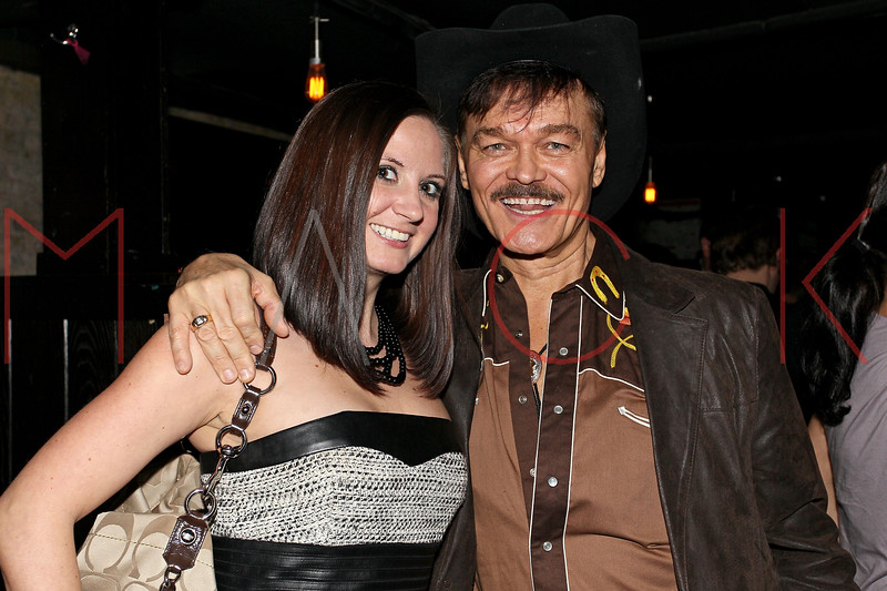 "NEW YORK, NY - JANUARY 17:  Anastasia Smith and Randy Jones attend ""The Meat Puppet"" New York Premiere after party at Kings Cross on January 17, 2013 in New York City.  (Photo by Steve Mack/S.D. Mack Pictures)"
