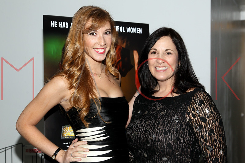"NEW YORK, NY - JANUARY 17:  Lexi Keresztes and Kim St. Clair attend ""The Meat Puppet"" New York Premiere Film at Anthology Archives on January 17, 2013 in New York City.  (Photo by Steve Mack/S.D. Mack Pictures)"