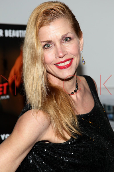 "NEW YORK, NY - JANUARY 17:  Debbie Dickinson attends ""The Meat Puppet"" New York Premiere Film at Anthology Archives on January 17, 2013 in New York City.  (Photo by Steve Mack/S.D. Mack Pictures)"