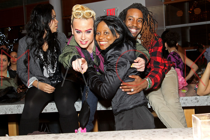 NEW YORK, NY - JANUARY 19:  Indashio (middle) at the Hudson Eatery on January 19, 2012 in New York City.  (Photo by Steve Mack/S.D. Mack Pictures)