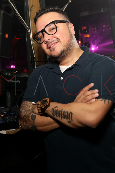NEW YORK, NY - JANUARY 21:  DJ and remixer Hex Hector performs at Splash Bar on January 21, 2012 in New York City.  (Photo by Steve Mack/S.D. Mack Pictures)
