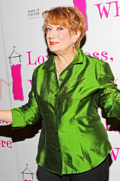 "NEW YORK, NY - JANUARY 05:  Nancy Dussault attends the ""Love, Loss, And What I Wore"" new cast member celebration at B Smith's Restaurant on January 5, 2012 in New York City.  (Photo by Steve Mack/S.D. Mack Pictures)"